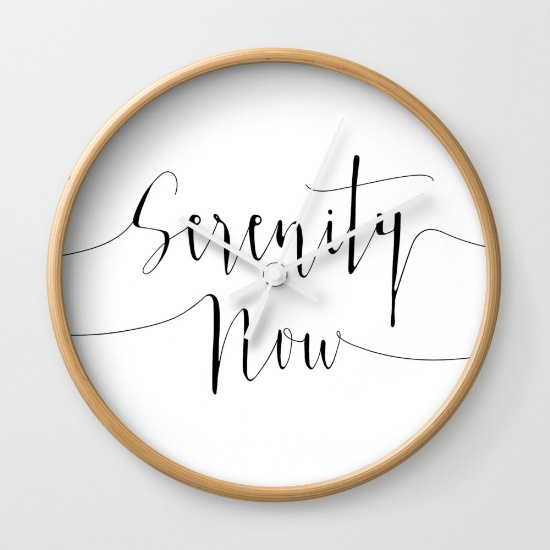 serenity-now-seinfeld-wall-clocks